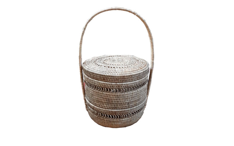 2 Layer round basket