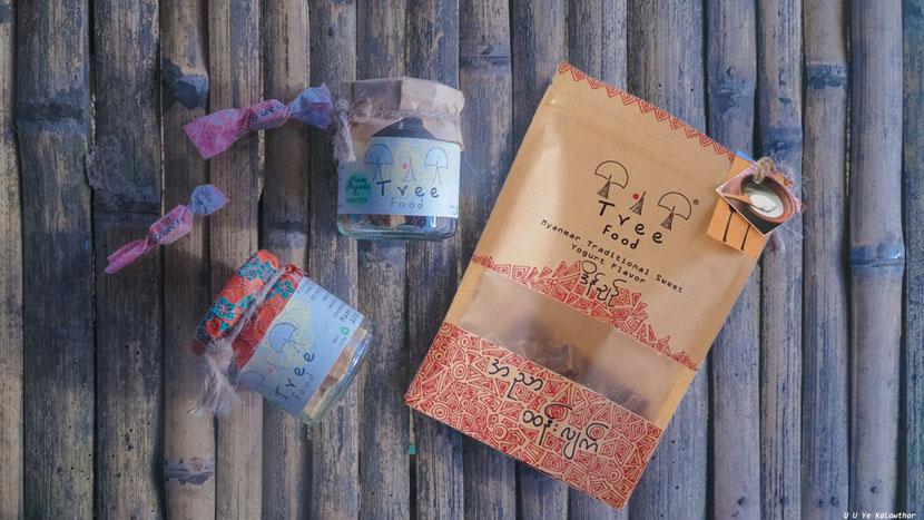 Tree Food Myanmar Traditional Sweet | Made in Myanmar